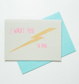 Gold Teeth Brooklyn Lightning Bolt Love Card