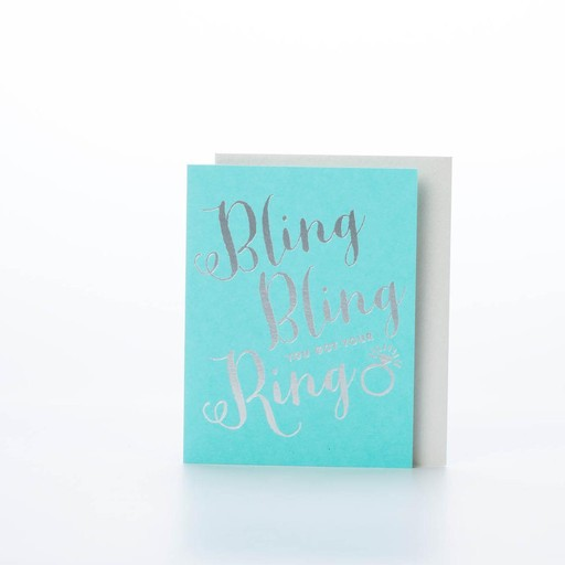 The Social Type Bling Bling Card