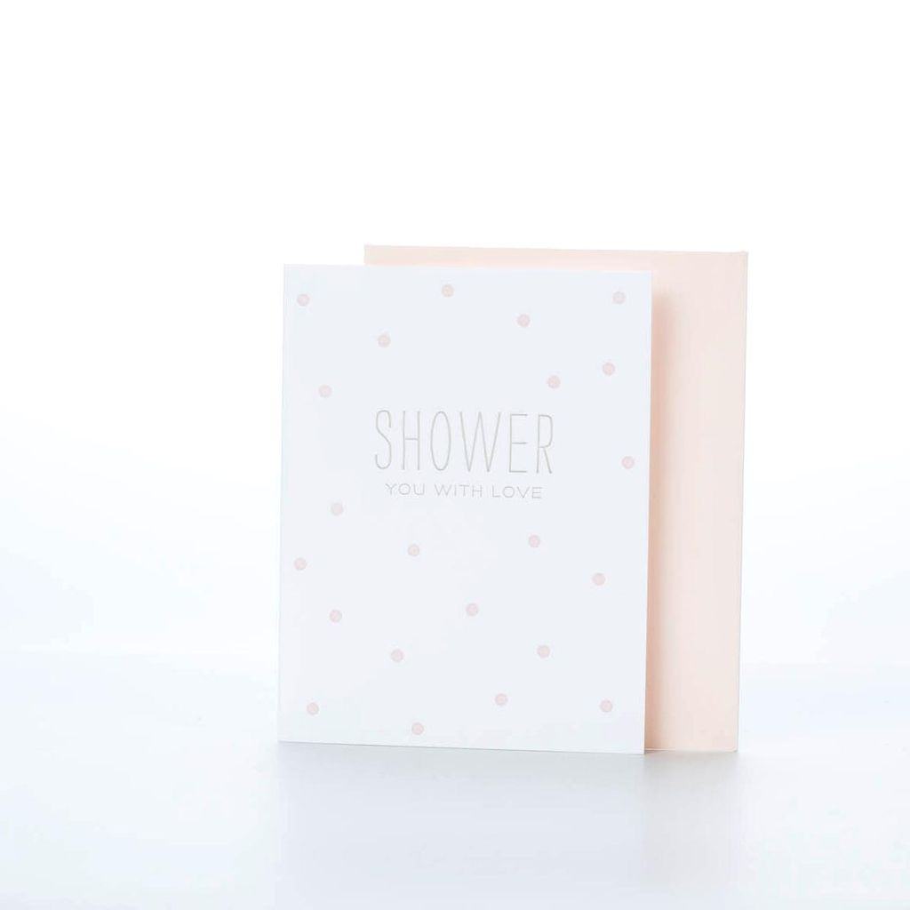 Sugar Paper Shower You with Love Card