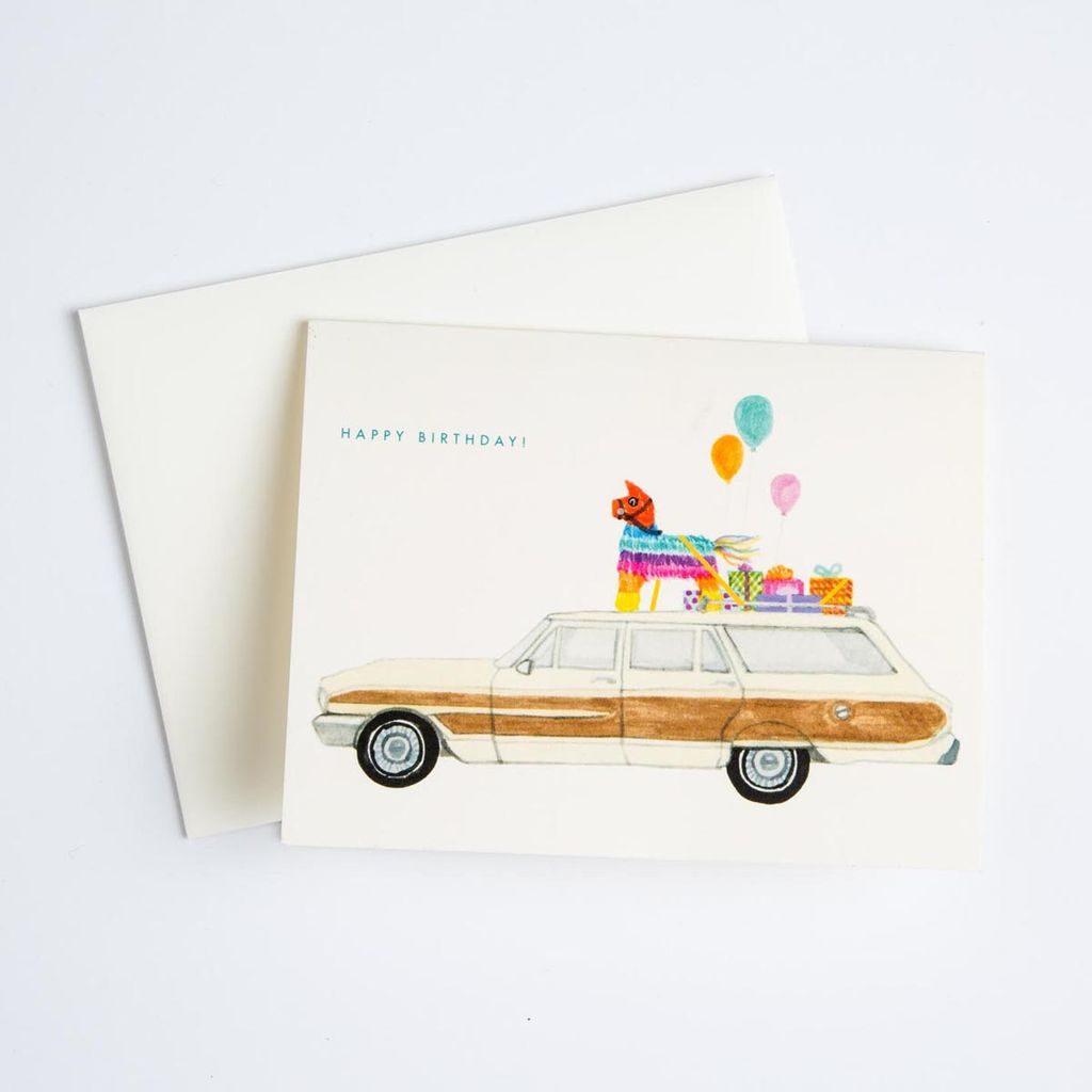 Dear Hancock Pinata Car Card
