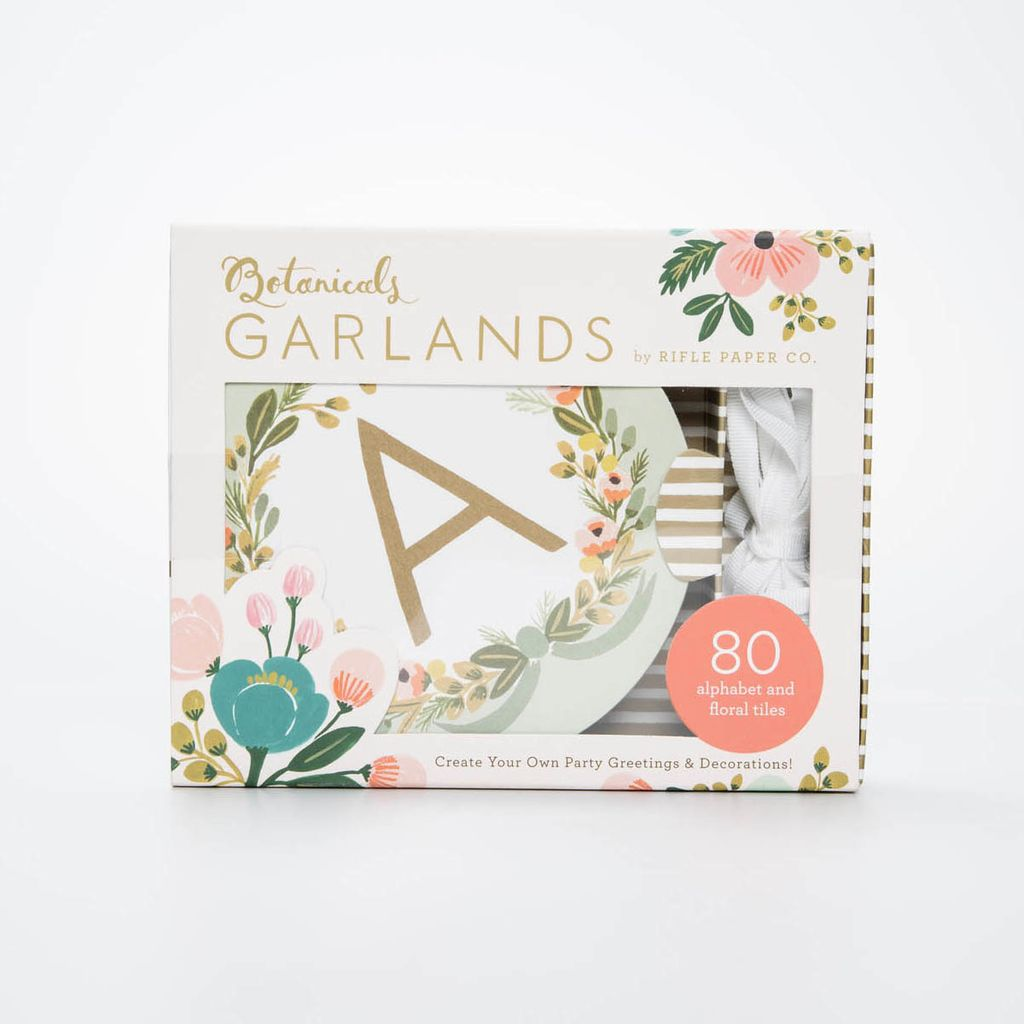 Chronicle Books Botanicals Garland