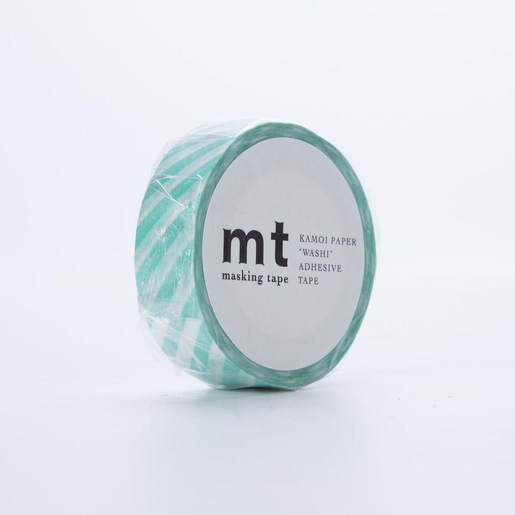 Sweet Bella LLC Stripe Mint Washi Tape