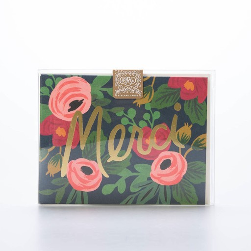 Rifle Paper Co. RPNSTY0006 - Rosa Merci, Set of 8