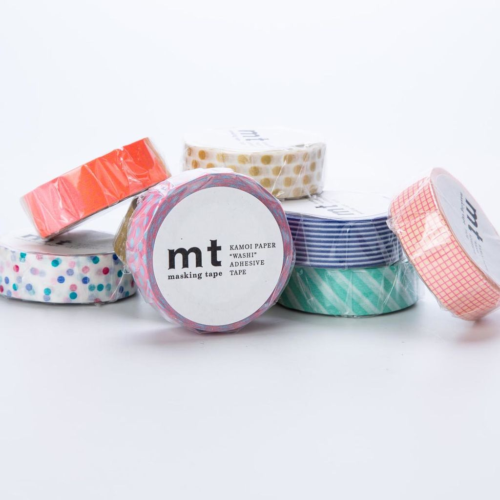 Sweet Bella LLC Pastel Thin Washi Tape Set