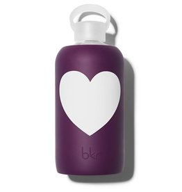 bkr BKR AC - Glass Waterbottle, Lolita Heart 1L