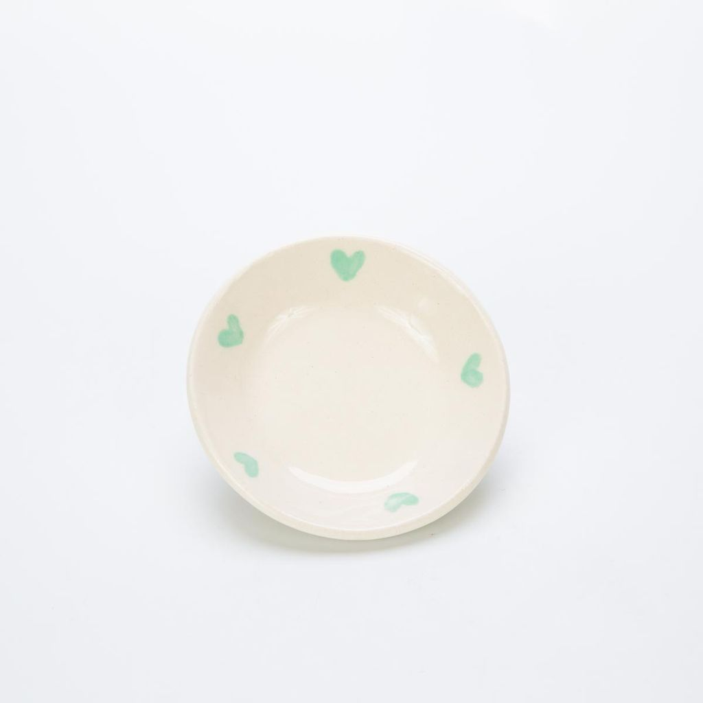 RossLab Mint Heart Ring Dish