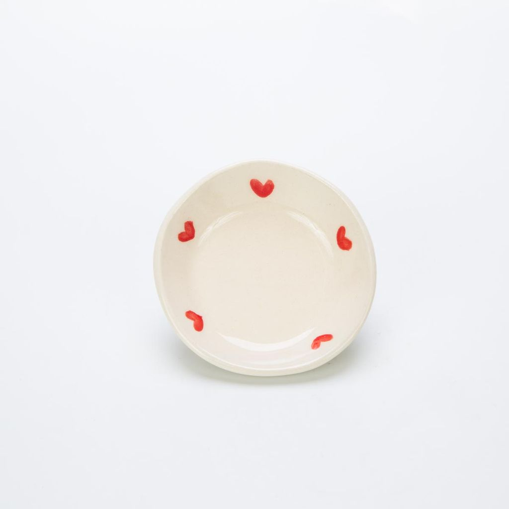 RossLab Red Heart Ring Dish