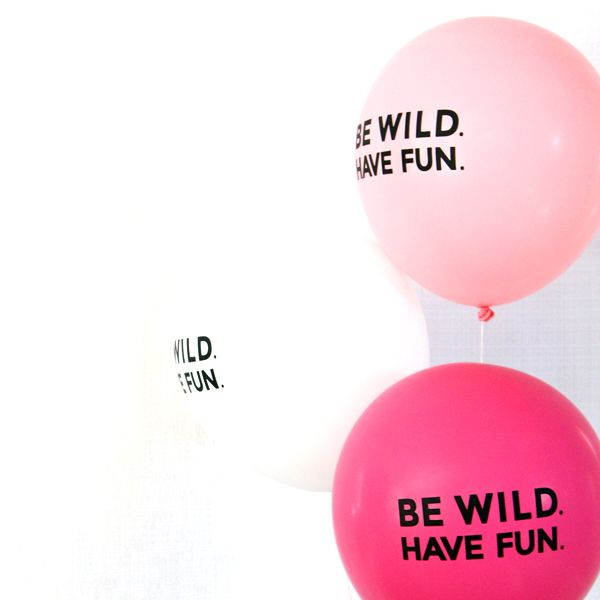 The Flair Exchange Be Wild Inch Set of 3 Balloons