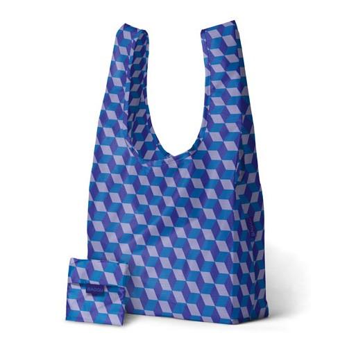 BAGGU BA BAG - Reusable Bag, Cube Blue