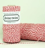 whisker graphics Valentine's Red + Pink Bakers Twine Spool