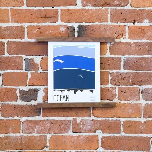 Brainstorm Print and Design Ocean Print