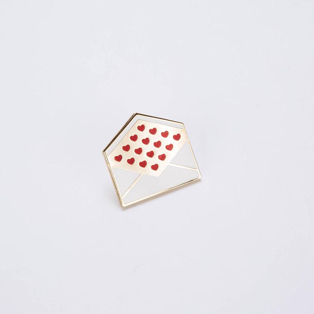 City Of Industry COI AC - Love Letter Enamel Pin