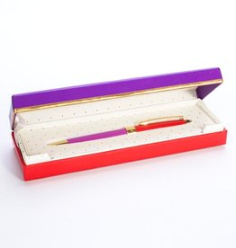 Kate Spade KS OS - Red/Purple Ballpoint pen