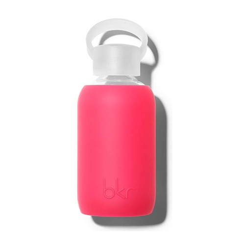 bkr BKR AC - Glass Waterbottle, Bisous 8 oz