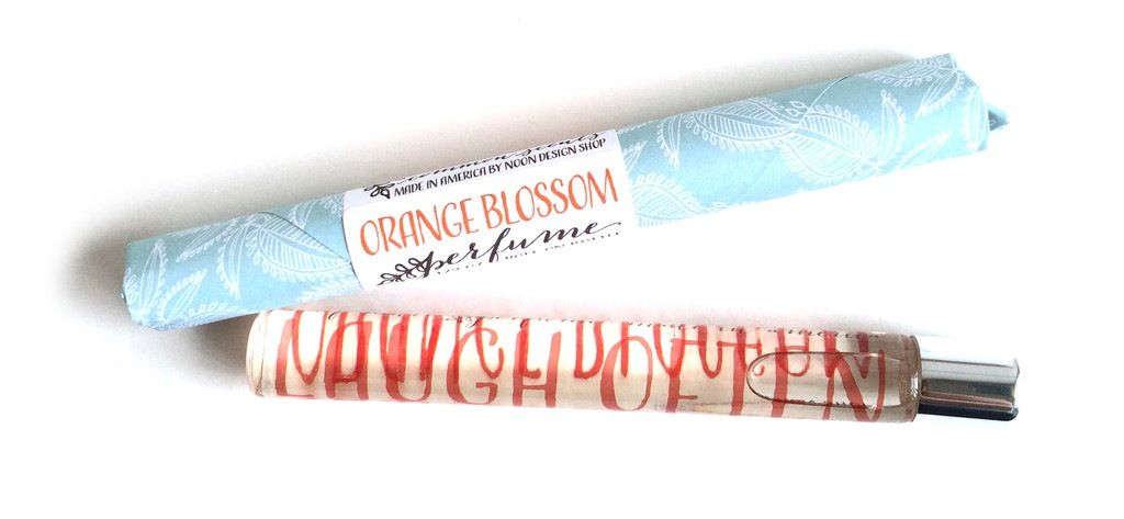 Noon Designs Orange Blossom Perfume Roller
