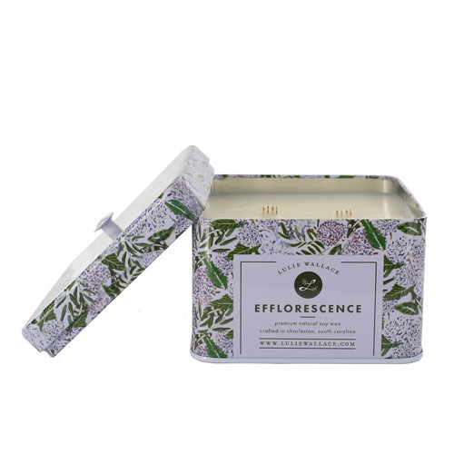 Lulie Wallace Efflorescence Double Wick Candle