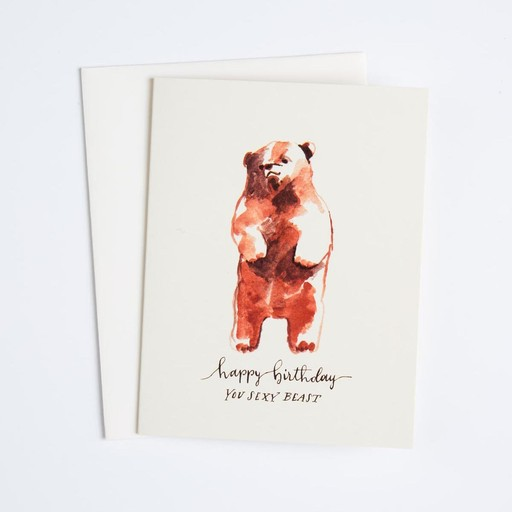 Antiquaria Sexy Beast Card