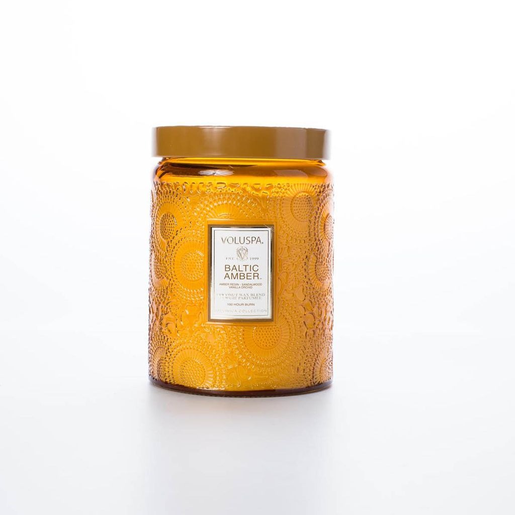 Voluspa VOCALA - Large Baltic Amber 16oz Candle
