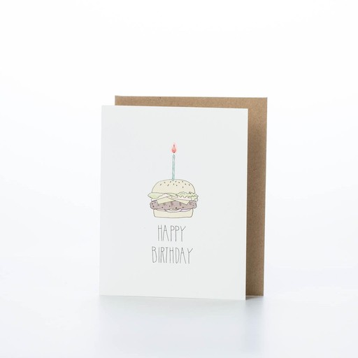 Hartland Brooklyn Birthday Burger Card