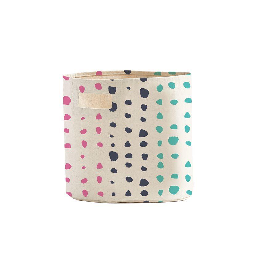 Pehr Painted Dots Pint Bucket