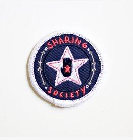 Strawberry Moth STM LG - Sharing Society Patch