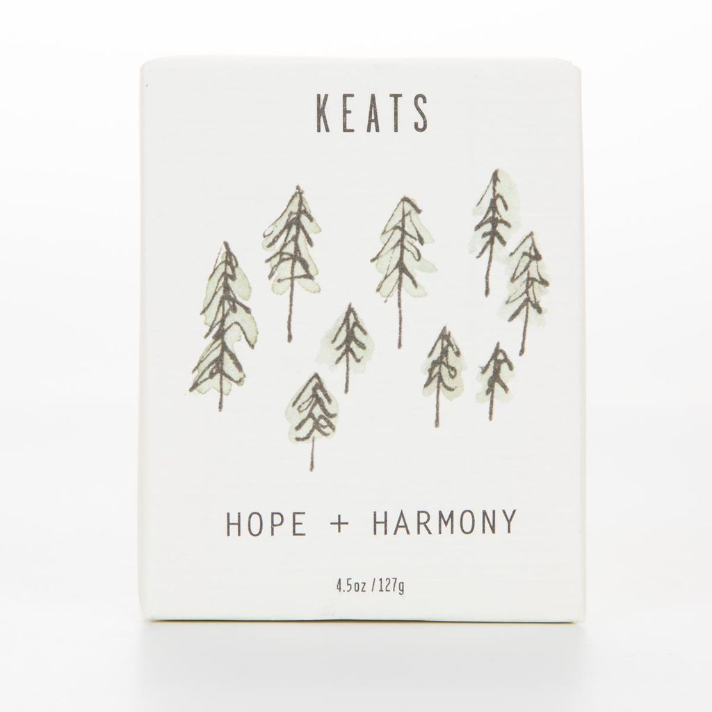 Keats KE BAB - Hope + Harmony  -  Cedarwood + Lime Soap
