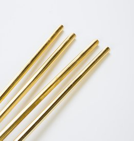 w and p design WP LG - Gold set of 4 straws