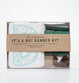Thimblepress It's a Boy Banner Kit