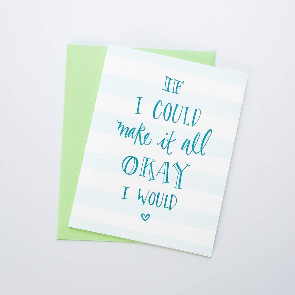 Gus and Ruby Make it All Okay Card