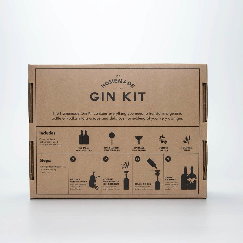 w and p design The Homemade Gin Kit