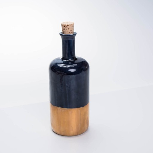 Honeycomb Studio Navy + Copper Bottle