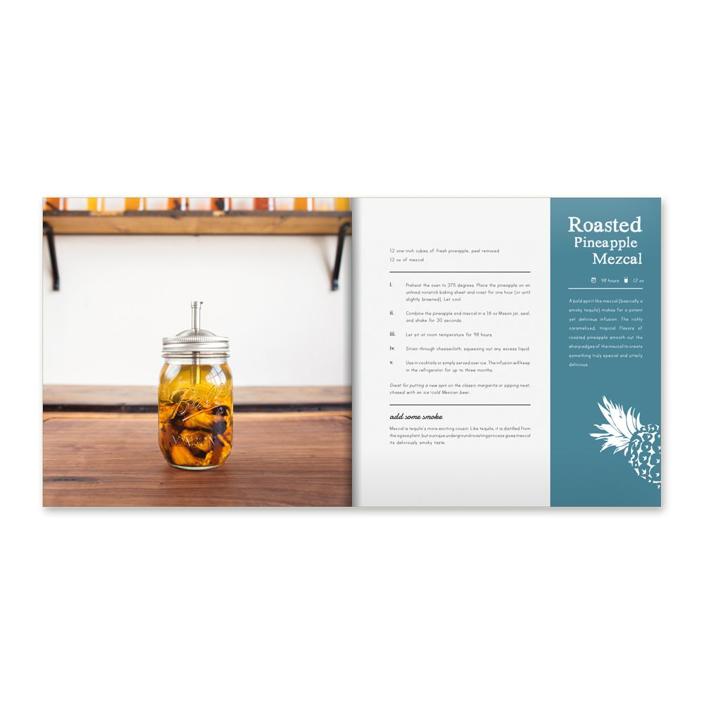 w and p design Infuse: Oil, Spirit, Water Recipe BookRecipe Book