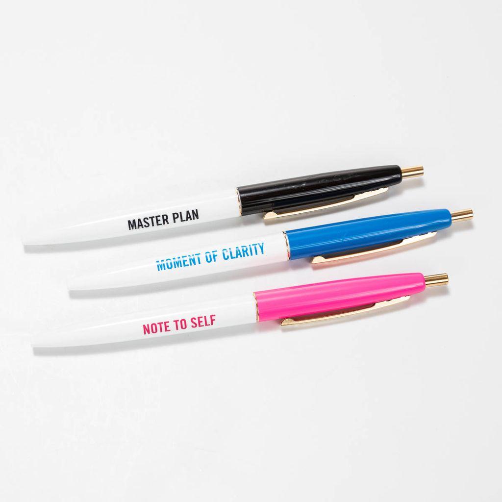 Snow and Graham SG OS - Clarity, Set of 3 Pens DISCO