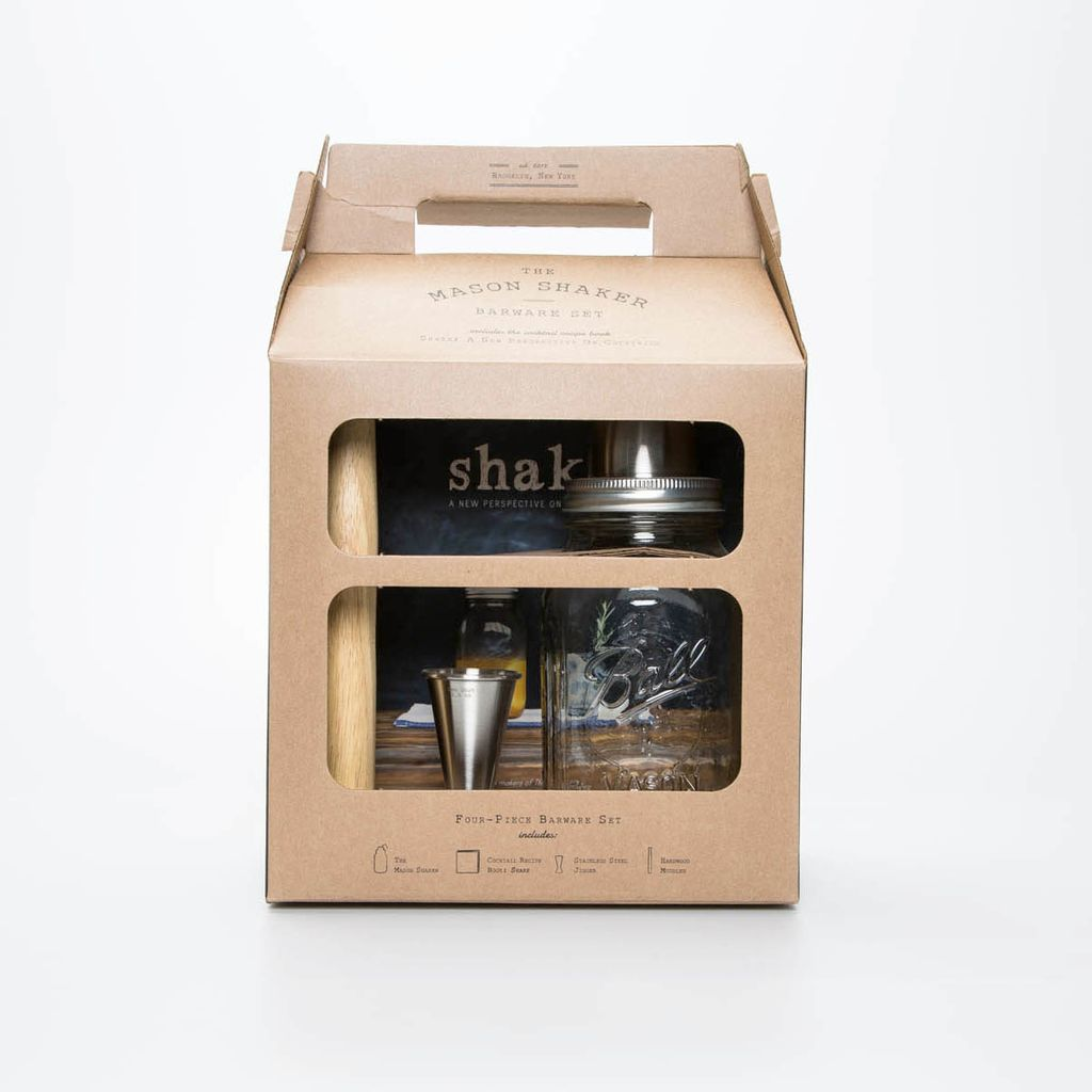 w and p design The Mason Shaker Barware Set
