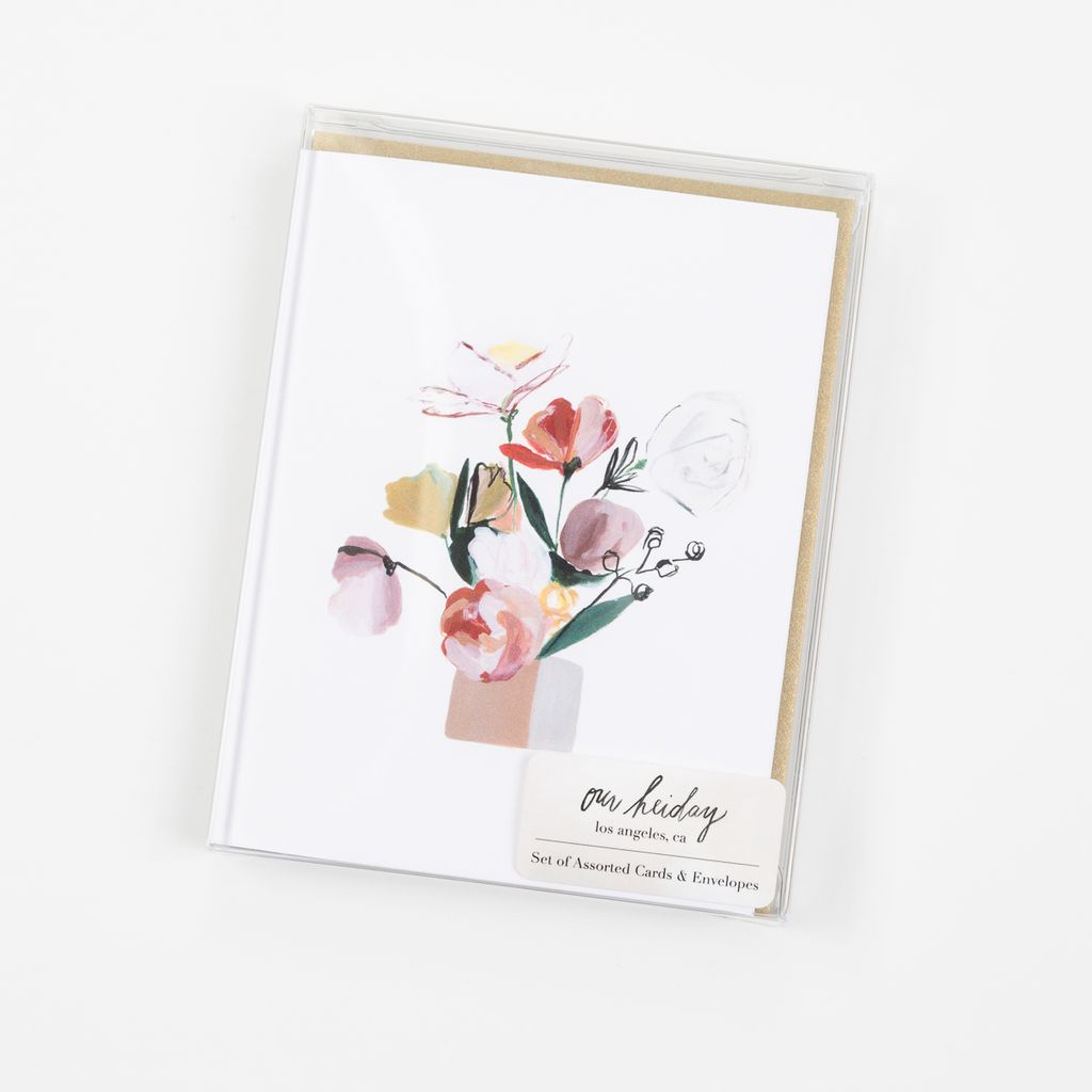 Our Heiday OHNSBL0001 - Bouquet Noteset, 6 pack