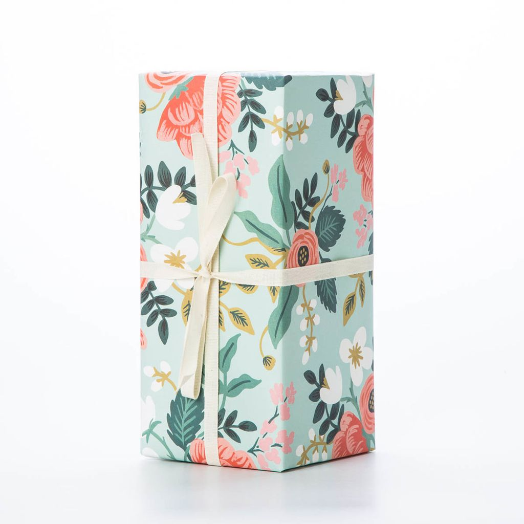 Rifle Paper Co. Birch Floral wrap Sheet