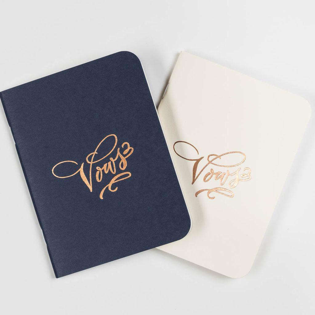 Antiquaria Vows Notebook Duo