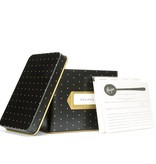 Rifle Paper Co. Polka Dot Tin Recipe Box