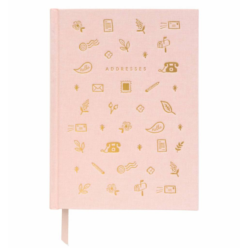 Rifle Paper Co. Blush Adress Book