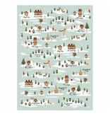 Rifle Paper Co. RPWP - North Pole Wrap Roll (3 19.5x27 Inch sheets)