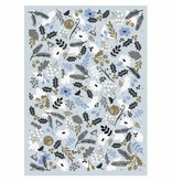 Rifle Paper Co. RPWP - Holiday Blue Sun Wrap Roll (3 19.5x27 Inch sheets)