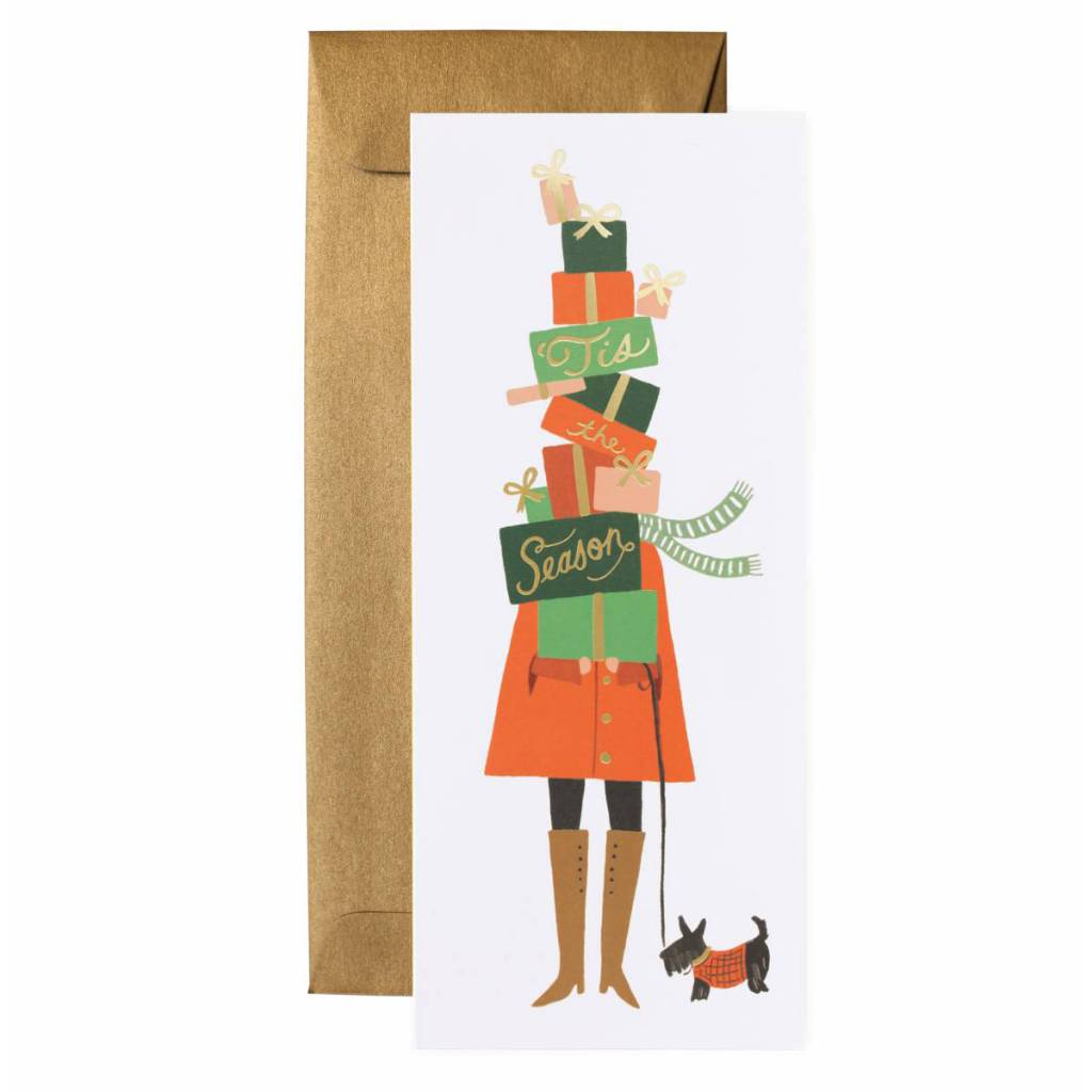 Rifle Paper Co. Season of Giving Set of 8 Cards