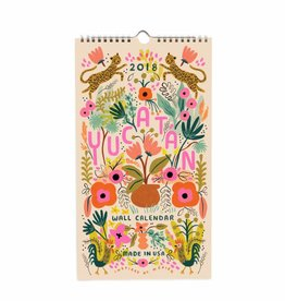 Rifle Paper Co. 2018 Yucatan Wall Calendar