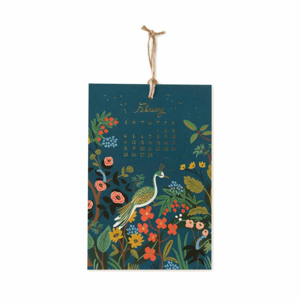 Rifle Paper Co. 2018 Midnight Menagerie Wall Calendar