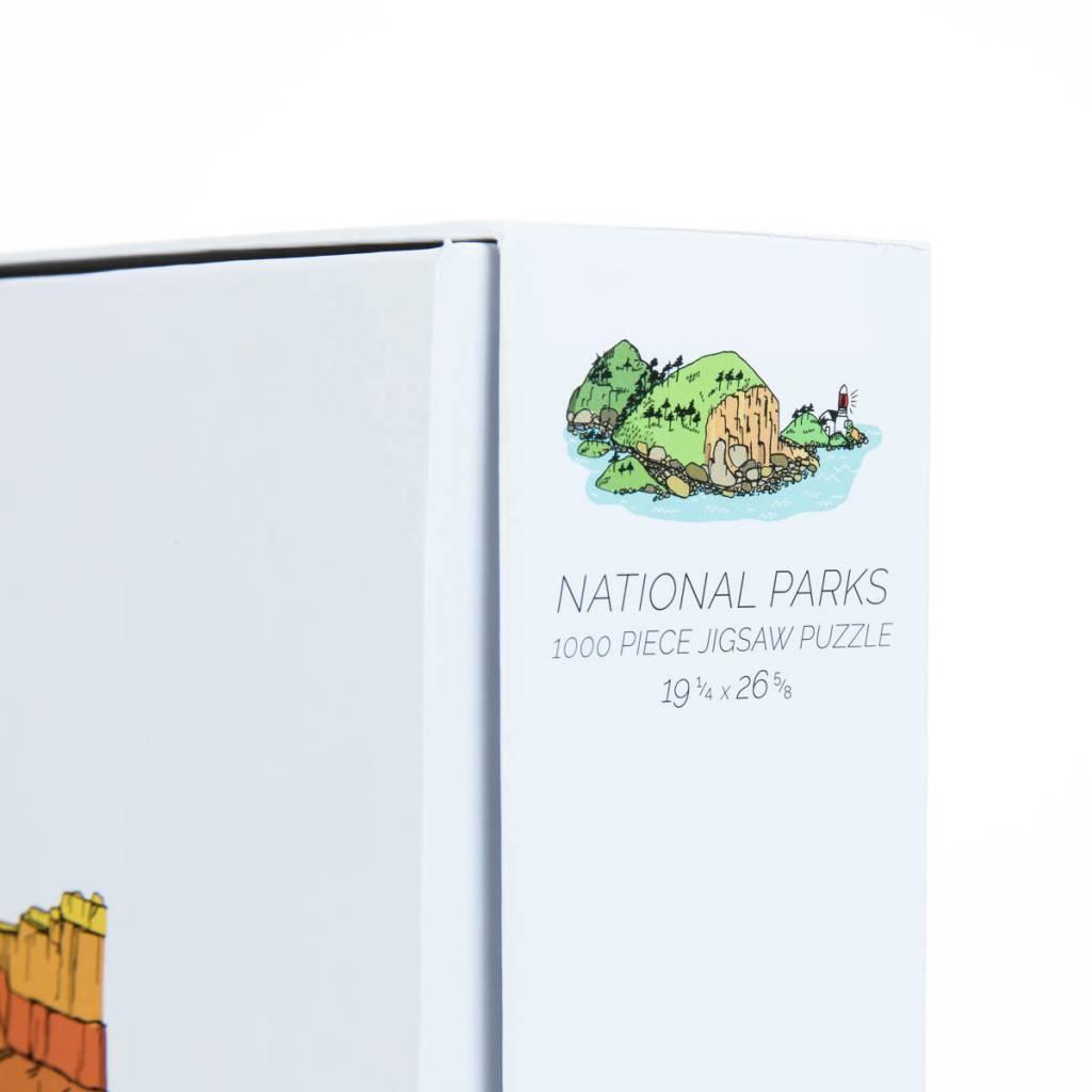 Brainstorm Print and Design National Parks 1,000 Piece Puzzle