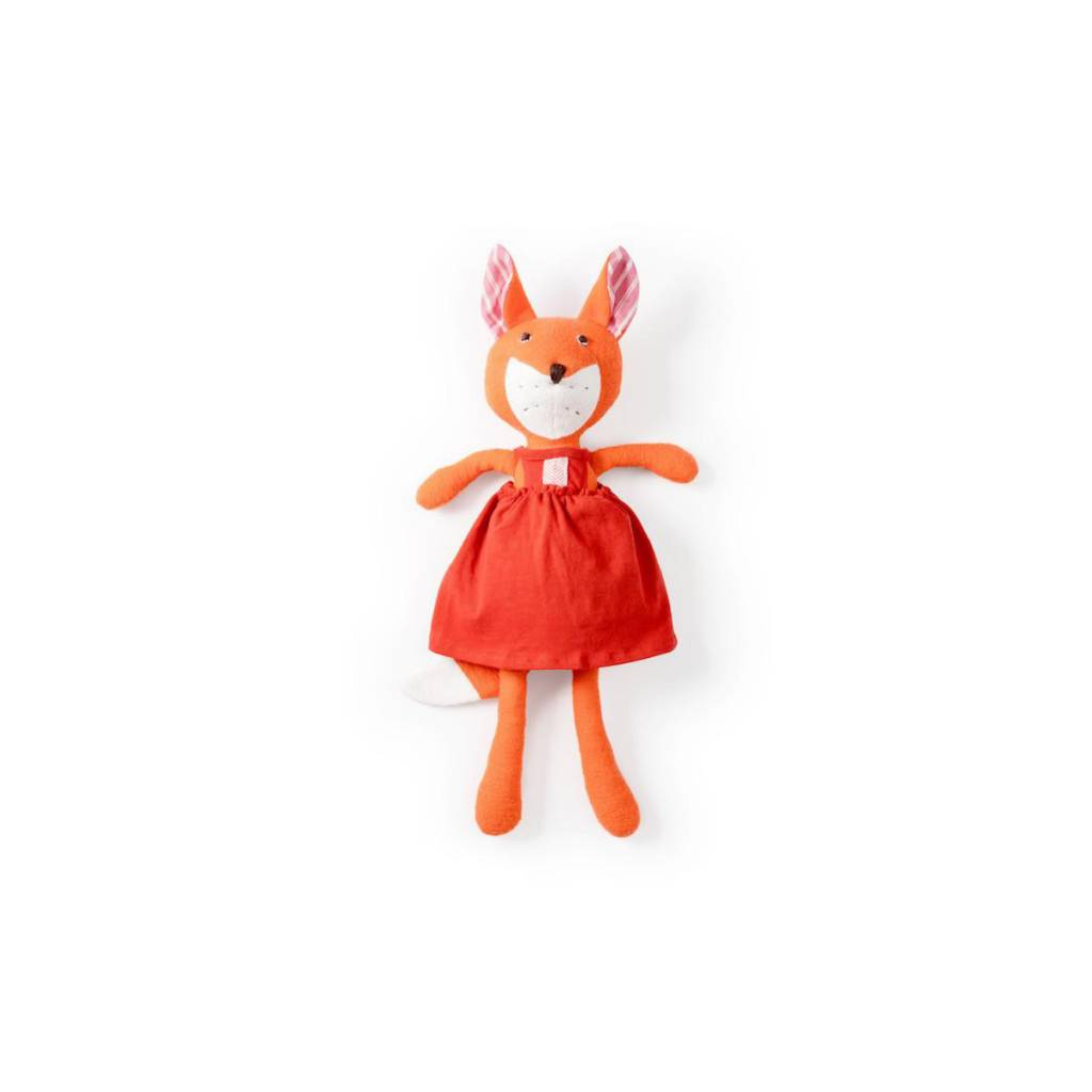Hazel Village Hazel Village Flora Fox in Strawberry Red Jumper