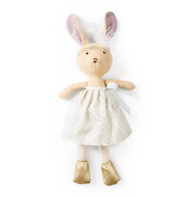Hazel Village Hazel Village Juliette Rabbit in Silver + Gold