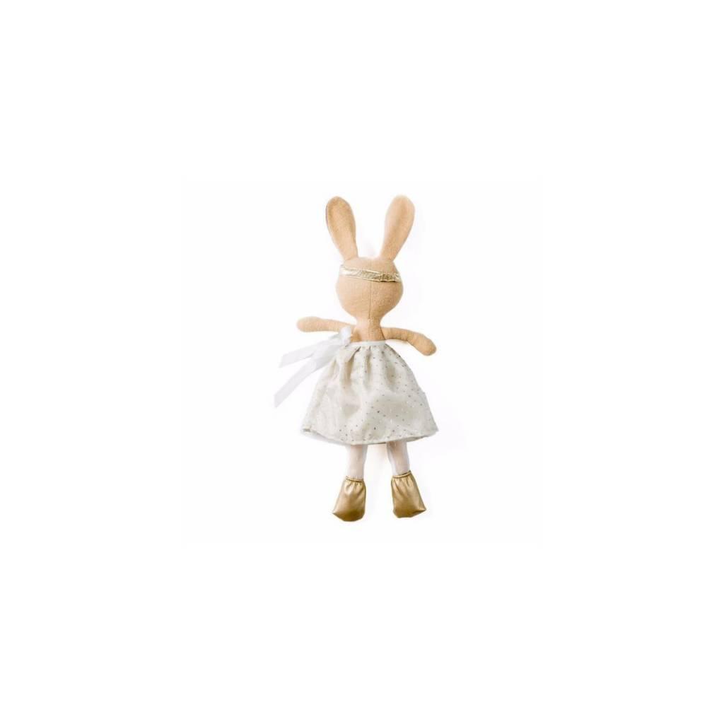Hazel Village Hazel Village  Juliette Rabbit in Silver + Gold