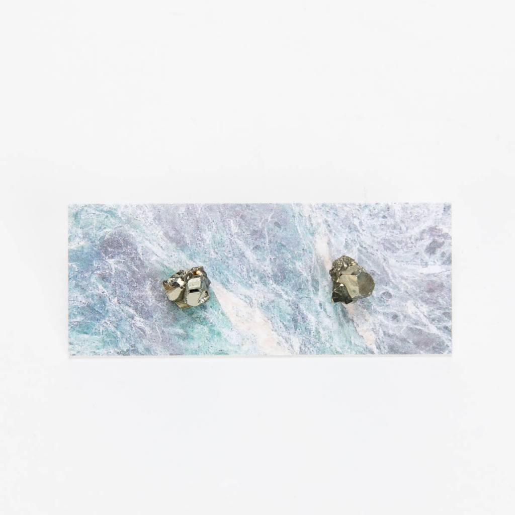 Dear Survivor Pyrite Studs