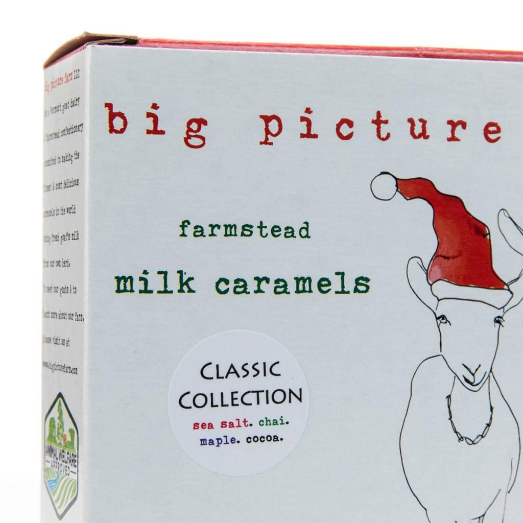 big picture farm Classic Mix Caramels (Chai, Maple Cream, Cocoa Latte, Sea Salt Vanilla)
